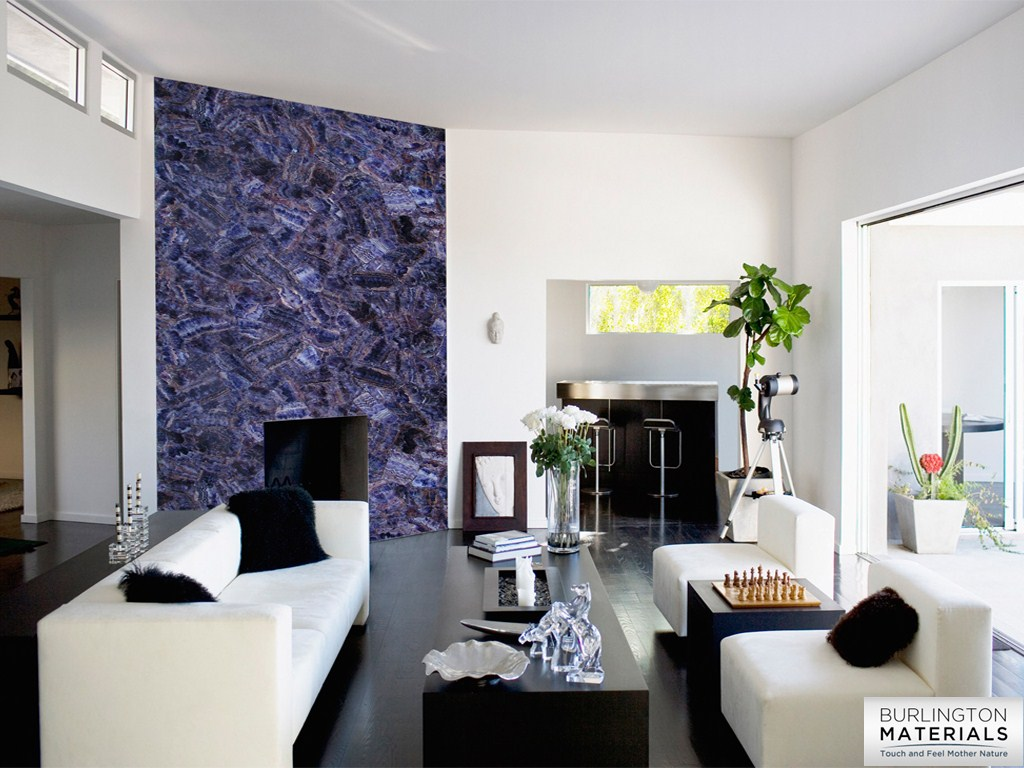 Agate Fireplace Panel