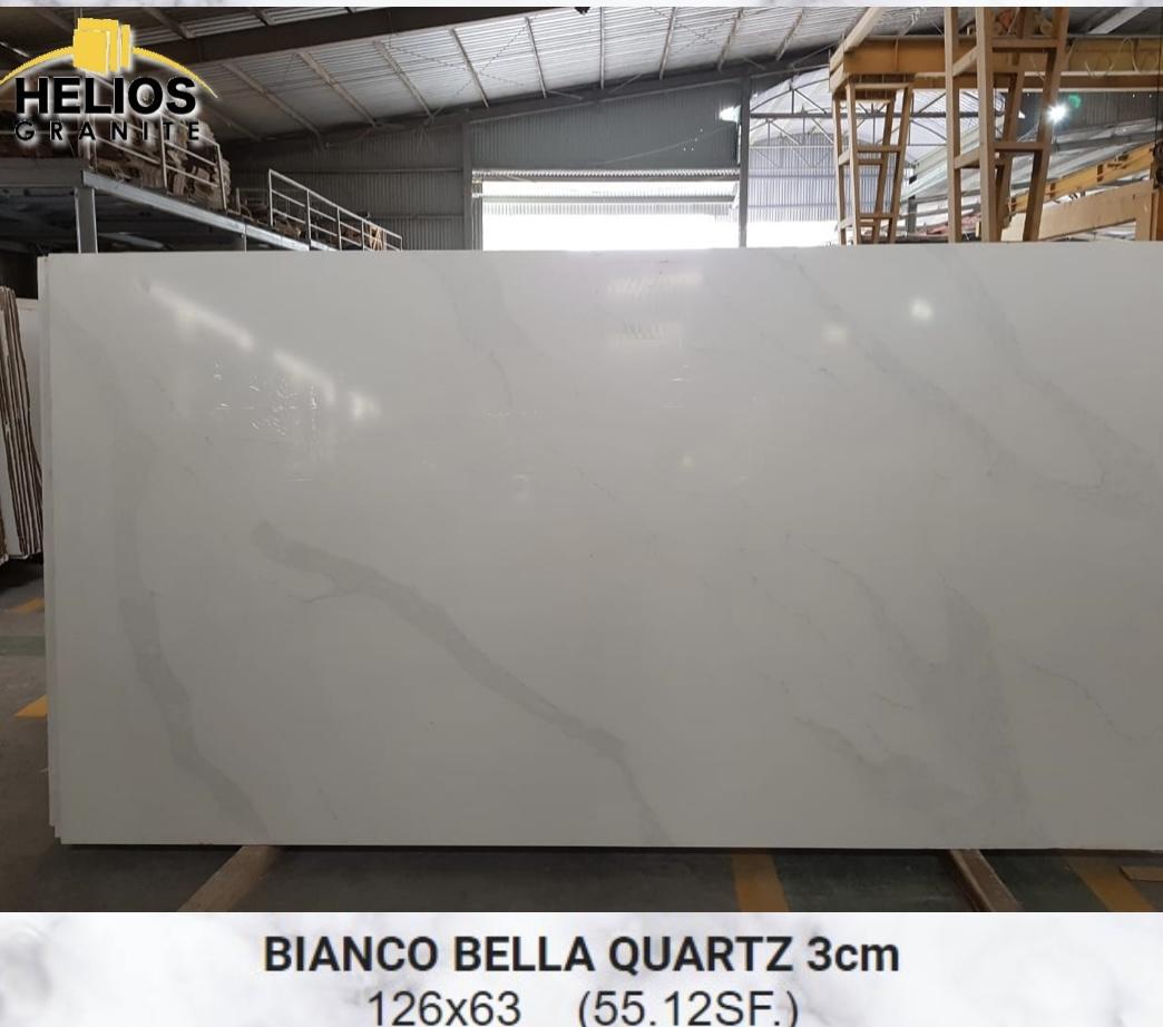 Helios Quartz - Calacata Bella 3cm