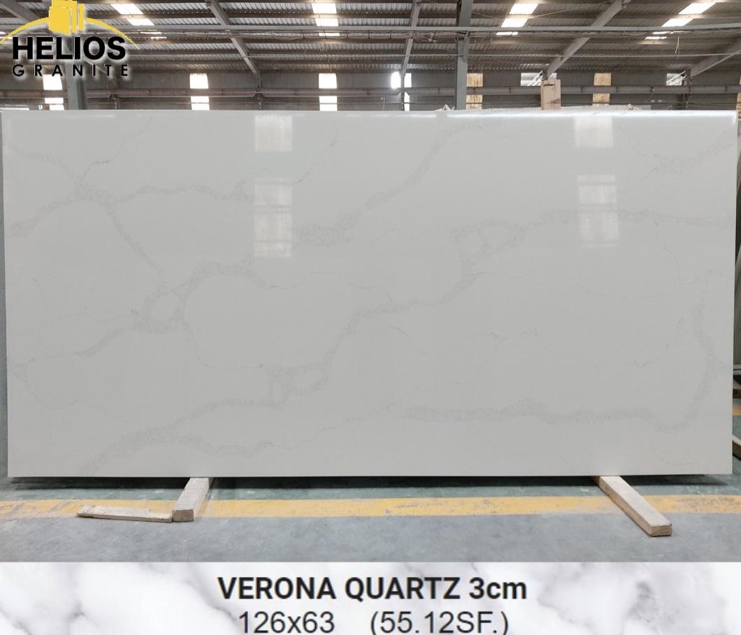 Helios Quartz - Calacata Verona 3cm